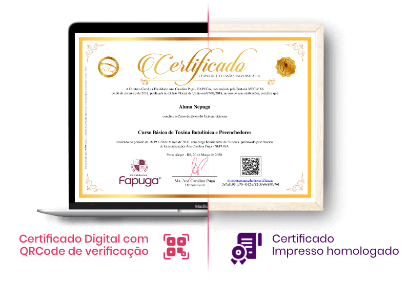 Certificado Digital e Impresso do Nepuga